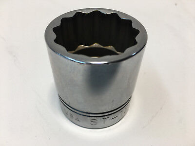 Williams ST-1238 1/2 Drive Shallow Socket 12 Point, 1-3/16-Inch USA
