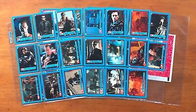 1991 Topps Terminator 2 Trading Card Stickers - Complete Set (44)