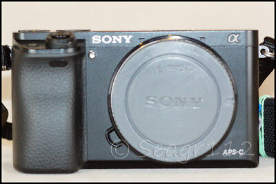Sony Alpha E Mount a6000 24.3MP Digital Camera Body - No Lens - Mint 850 Clicks