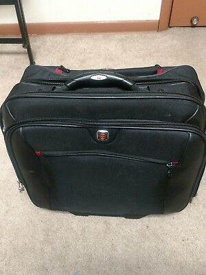 Swiss Gear Wenger Rolling Laptop Computer Bag Travel Carry On