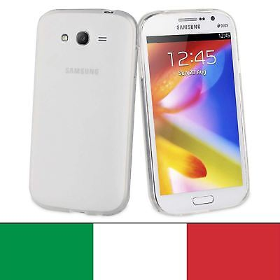 Cover Custodia Trasparente Slim Tpu Per Samsung Galaxy Grand Neo Plus GT-I9060I