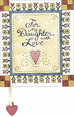 For My Daughter, with Love (Little Books) Hardback Book The Cheap Fast Free Post