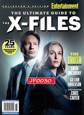 Entertainment Weekly Collector's Edition, X-FILES, Brand New/Sealed, 2018