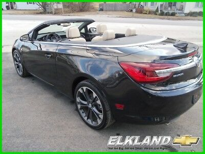 Buick Cascada Only 8000 Miles Premium Convertible BLACK Convertible Only 8000 Miles BLACK Leather Heated/Vented Seats