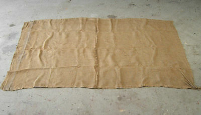 "BOX TRAILER  LOAD COVER "" HESSIAN "" SIZE TO SUIT TRAILER  UP TO 7 ft x 4.5 ft."