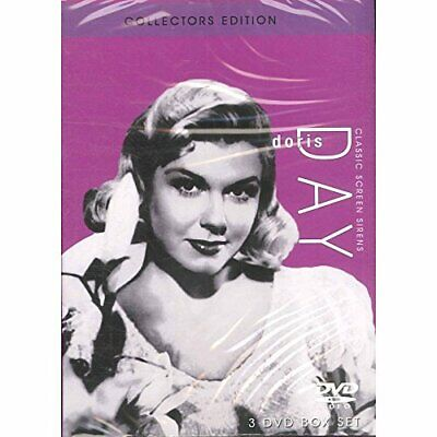 Classic Screen Sirens Doris Day - DVD  8SVG The Cheap Fast Free Post