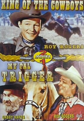 King of the Cowboys/My Pal Trigger (DVD, 2006) Roy Rogers Gabby Hayes 2 Movies