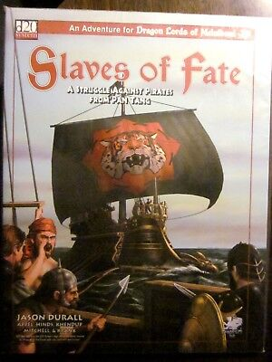 d20 Chaosium #2018 Dragon Lords of Melnibone SLAVES OF FATE (2001) New Condition