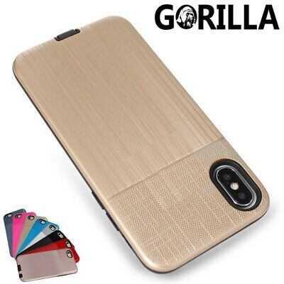 Shockproof Heavy Duty Tough Armor Hard Case Cover For Apple iPhone 7 8 Plus Xs 6
