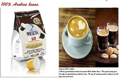 Arabica Nespresso Capsule Coffee compatible Pods - 100 CAPS ITALIAN ROAST
