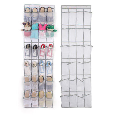 Over The Door Shoe Rack For Closet Hanging Storage Canvas Organizer Wall Holder  sc 1 st  PicClick UK & OVER THE DOOR Shoe Rack For Closet Hanging Storage Canvas Organizer ...