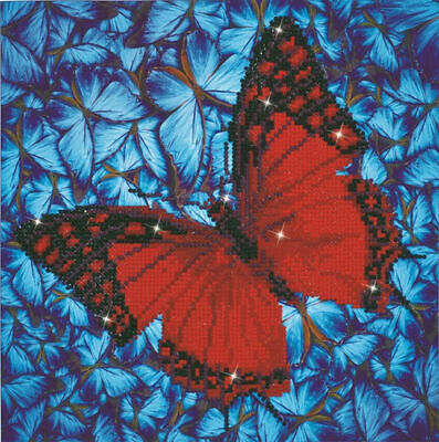 Diamond Dotz 5D Embroidery Facet Art Kit, Intermediate Flutter by Red