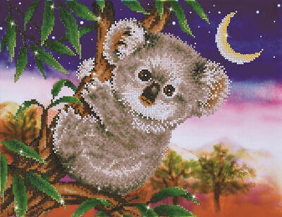 Diamond Dotz Embroidery Facet Art Kit, Intermediate Koala Snack