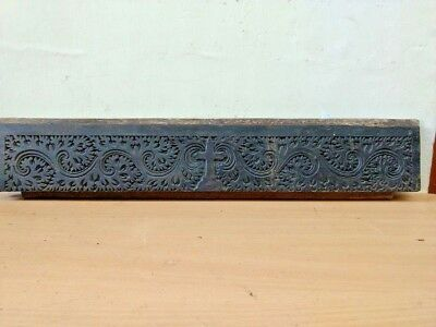 Antique Wooden Handcarved Church Wall Panel Cross Vintage Christian panel Decor