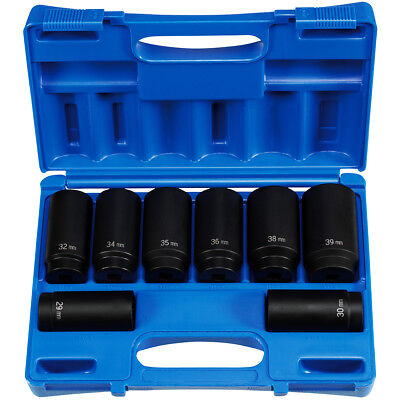 Grey Pneumatic GRY 1719 19Pc 1//2in Dr 12Pt Fractional Impact Socket Set