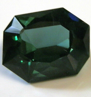 Rare large natural green apatite gem...10.33 carat free-form