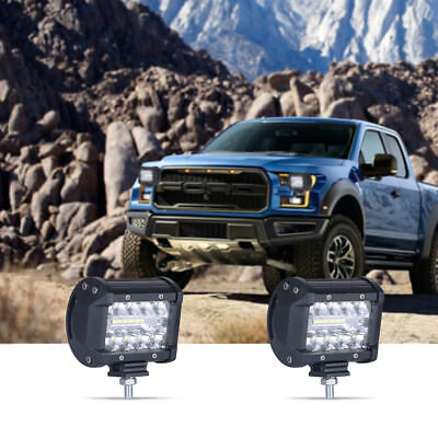 60W SPOT LED Off roads Work Light Lamp 12V 24V car boat Truck Driving UTE 6000K