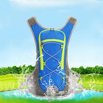 Sports Backpack Hydration Camelback Pack 12L Water Bladder Bag Cycling Running