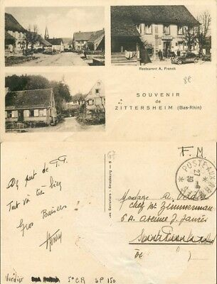 [509965] - France  - (67) Bas Rhin, Zittersheim, Hotels & Restaurants