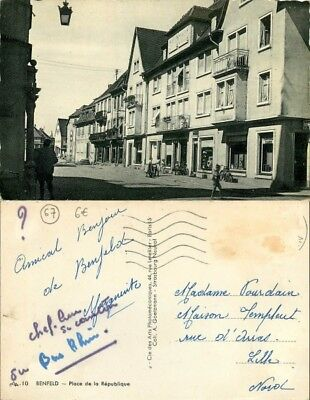 [509954] - France  - (67) Bas Rhin, Benfeld, Place de la République