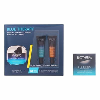 Set Cosmetica Unisex Blue Therapy Accelerated Creme Ttp Biotherm (3 pcs)
