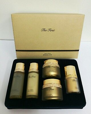 [OHUI] The First 5Type Special Gift Set (20ml/20ml/5ml/7ml/5ml) - Korea Cosmetic