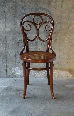 Chaise Bistrot N°35 de EISSLER & Söhne vers 1890 (no Thonet )