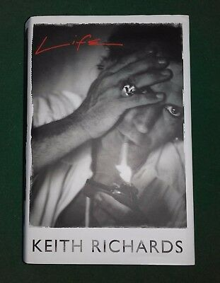 Life: Keith Richards by Keith Richards Autobiography (Hardback, 2010)