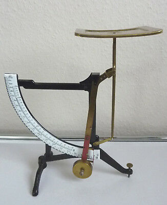 Huge antique Letter Scale probably by Jakob Maul 1900s - 1930s scale until 1000g
