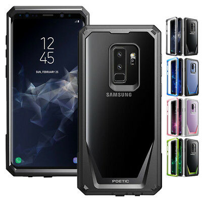 Galaxy Note 8 / S10e / S10 5G Case,Clear Hard Back Dual-Layer Shockproof Cover