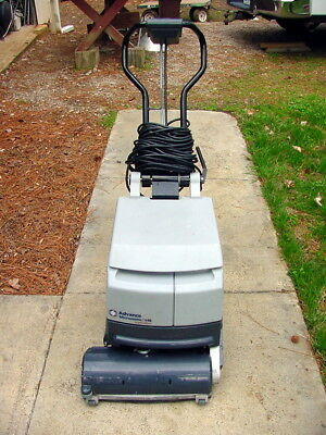 Advance 14E Micromatic Walk Behind Floor Scrubber  Cylindrical Brush 115V Elect