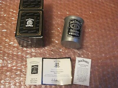 Jack Daniels Legends Black Label Shot Glass