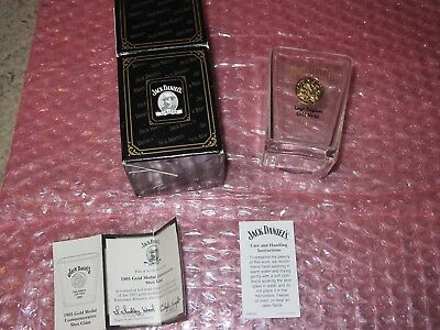Jack Daniels Legends 1905 Gold Medal Shot Glass