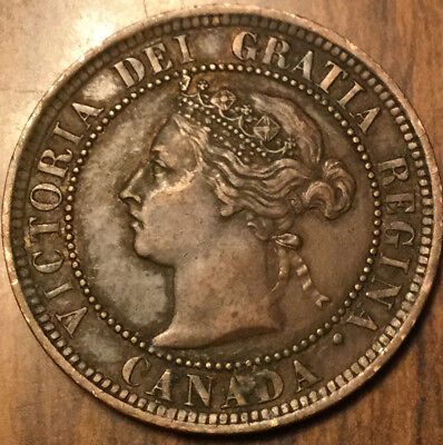 1888 CANADA LARGE 1 CENT PENNY - Excellent coin !