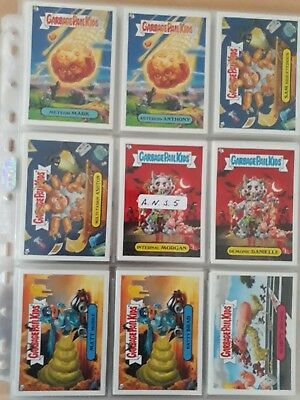 Garbage pail kids All New Series 5 Complete 80 Card a&b set 2006 series