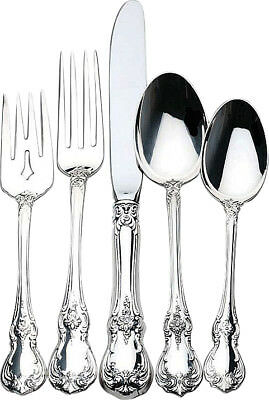 Old Master by Towle Sterling Silver 5 Piece DINNER SIZE Setting, NEW IN BOX