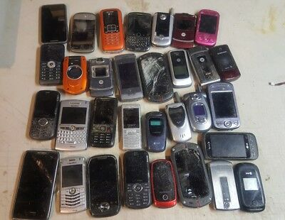 70 used Cell Phones- gold recovery
