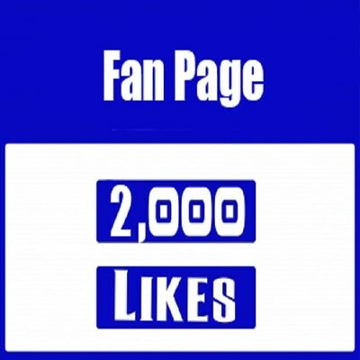2000-Facebook Fan Page-Real-Safe -- Permanent -