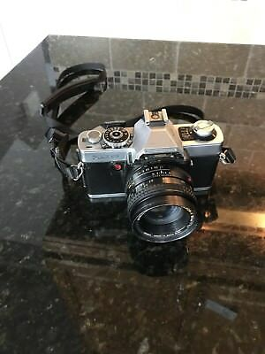 MINOLTA XG9 35mm VINTAGE SLR Film Camera MD ROKKOR-X 55mm Lens