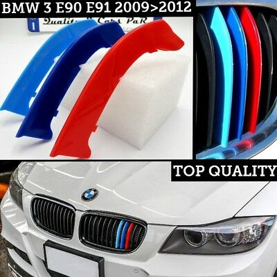 cover Griglia Bmw SERIE 3 e90 91 RESTYLING M sport fasce Calandre front grill m3