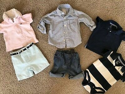 Baby Boys Clothing Lot Excellent Condition Dillard's, Carter's, Gap, HM 6-12 m