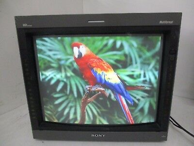 Sony Trinitron Pvm-20L5 Production Video Monitor 21047710 T4-B18
