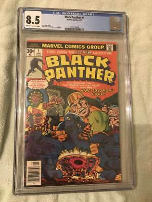 Black Panther #1, 1977, CGC 8.5, New case, just back from CGC