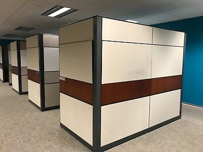 Allsteel Office Cubicles $350 each - $3,850 for all 11 pcs (Must take all)