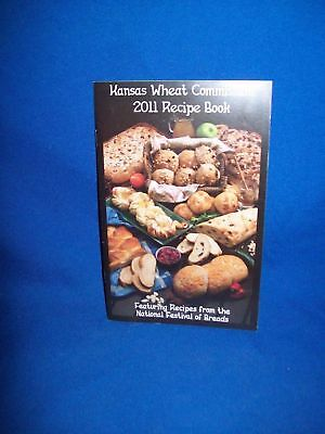 Kansas Wheat Commission Recipe Book Cookbook - 2011 Softcover Edition - Breads