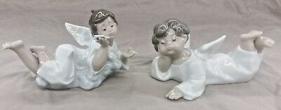 LLADRO angels (4541 and 5725) 2 Piece set (BL)