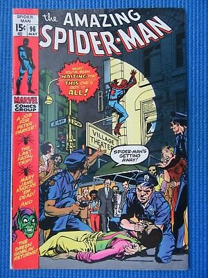 Amazing Spider-Man # 96 - (Fine) - Green Goblin, Drug Issue Not Approved By Cca