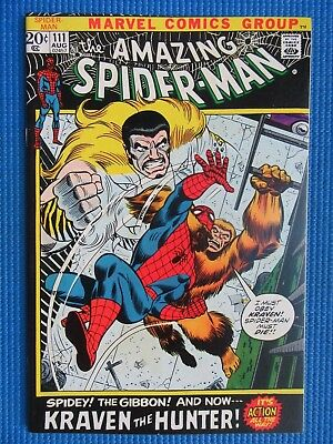 Amazing Spider-Man # 111 - (Nm) - Kraven The Hunter, The Gibbon - High Grade