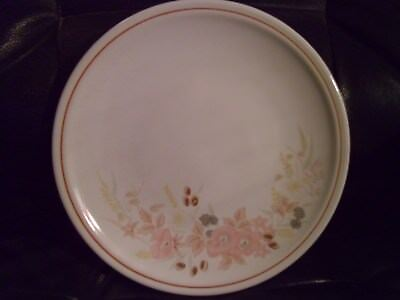 BOOTS HEDGE ROSE DINNER PLATE 26cms