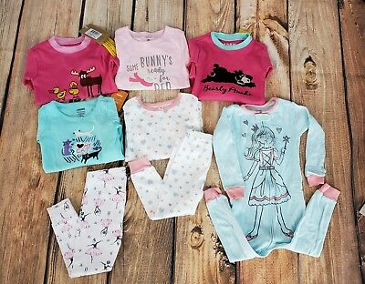 PJ LARGE 8 Piece LOT 24M and 2T Girls NAME BRAND Gymboree, Carter's etc.some NWT